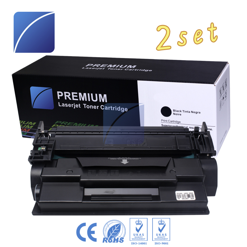 2 Pack 26X 226X CF226X Toner Cartridge Compatible for HP LaserJet Pro M402n/M402d/M402dn/M402dw compatibel cf226x 226x 26x 9000 page yield for hp toner cartridge laserjet pro m402dn m402dw m402n pro mfp m426fdn m426fdw
