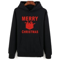 Happy Merry Christmas Dress Newest Many Fashion Style Hoodies Top Brand Cosplay Hooded Sweatshirts With Hat