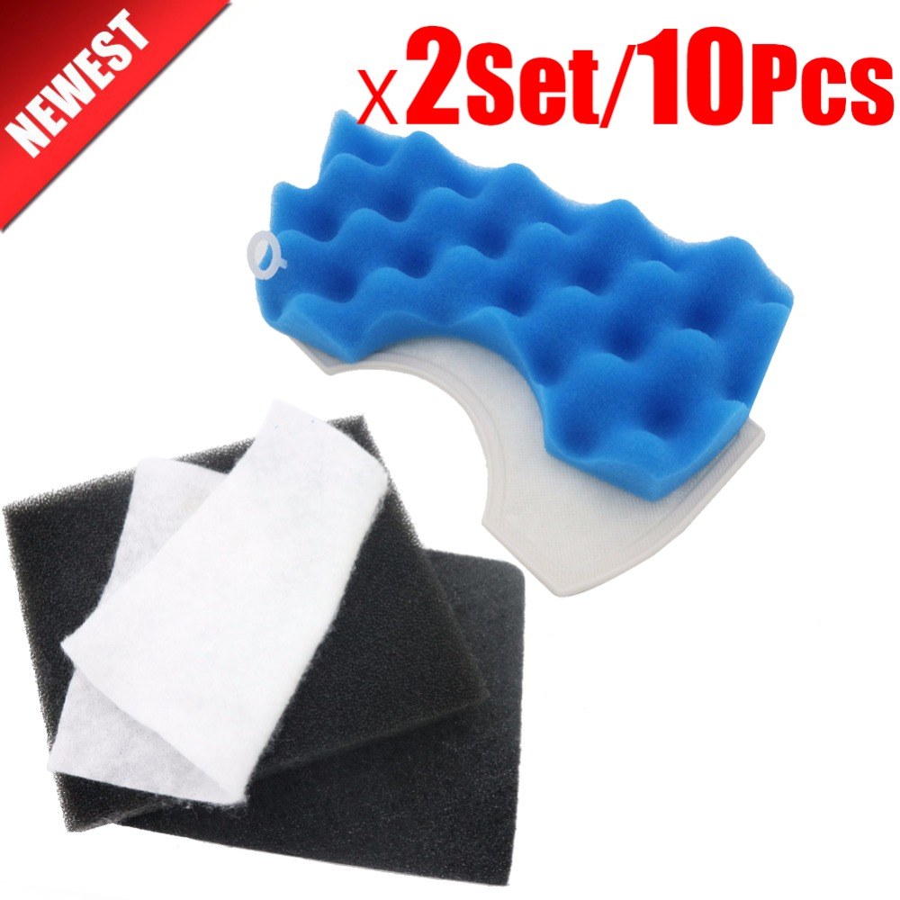 2Set/10pcs Vacuum cleaner parts dust motor filters Hepa For Samsung MICRO FILTER CLEANER DJ63-00669A SC43 - 47 SC43 SC47 ser original oem vacuum cleaner air inlet filters protect motor filter efficient filter dust 116x114mm vacuum cleaner parts