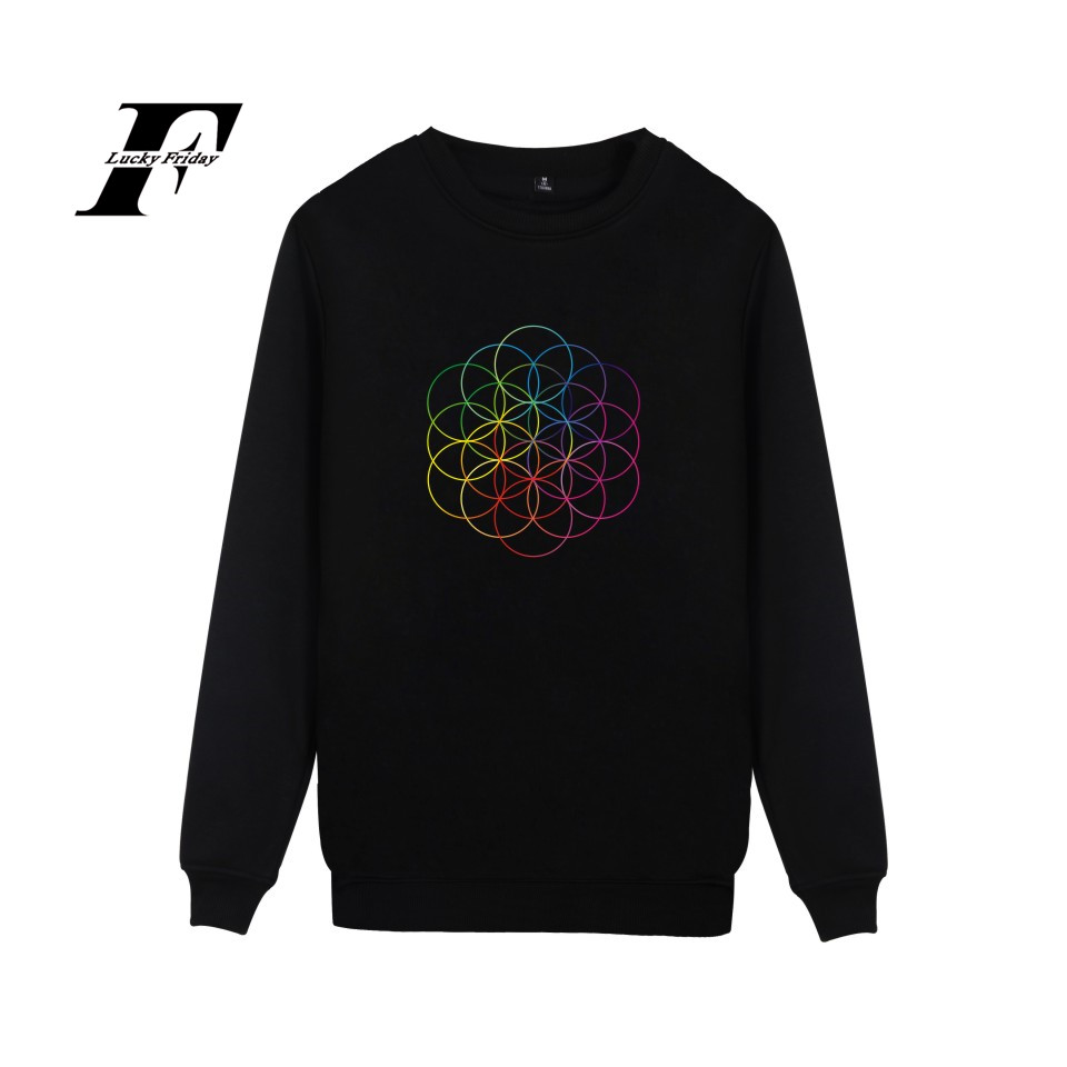 Popular Rock Band Coldplay Mens Sweatshirt Pullover Hoodie And Rocky Band Coldplay  New Arrived Capless Hoodys Clothes 4XL
