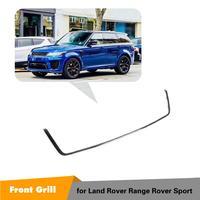 Для Land Rover Range Rover Sport 2018 2019 Передняя Центральная решетка сетка Внешняя рамка Крышка отделка автомобиля Стайлинг