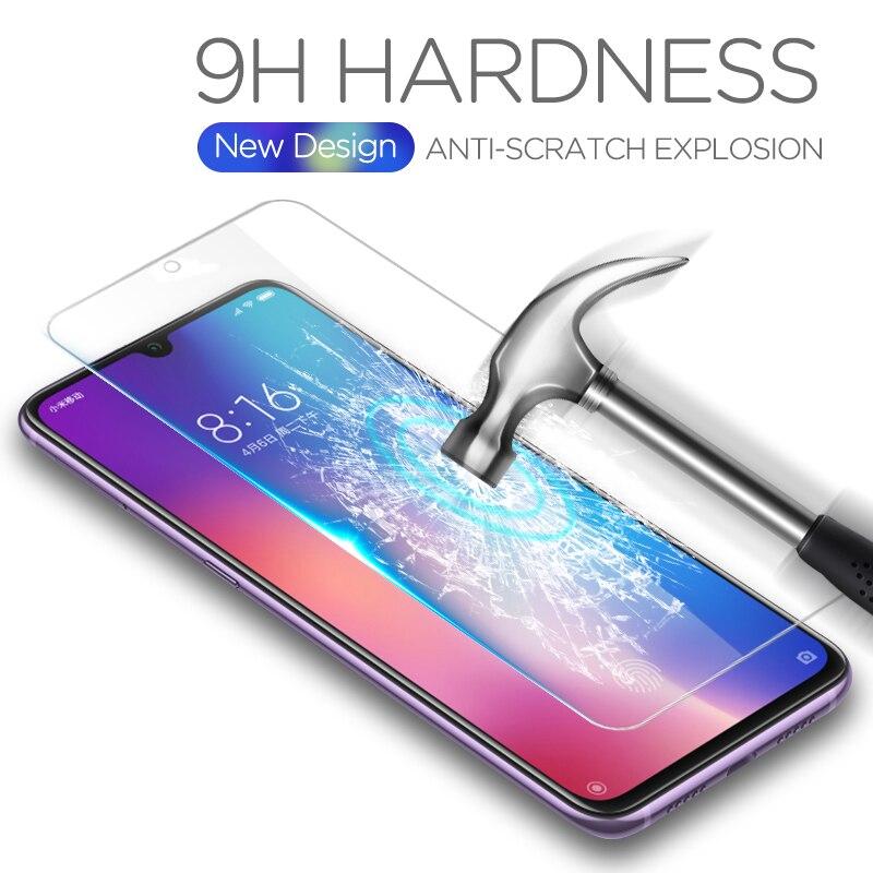Tempered Glass For Xiaomi Mi A3 MiA3 A 3 MiA 3 CC9E CC 9E CC9 E 9 Mi9 SE MiCC9E Screen Protector For Xiaomi MiA3 Mi9 Glass Film(China)