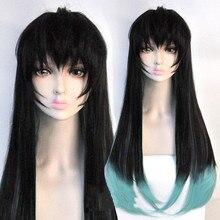 Аниме Demon Slayer: Kimetsu no Yaiba Tokitou Muichirou парики длинные градиентные термостойкие синтетические волосы косплей парики+ парик Кепка