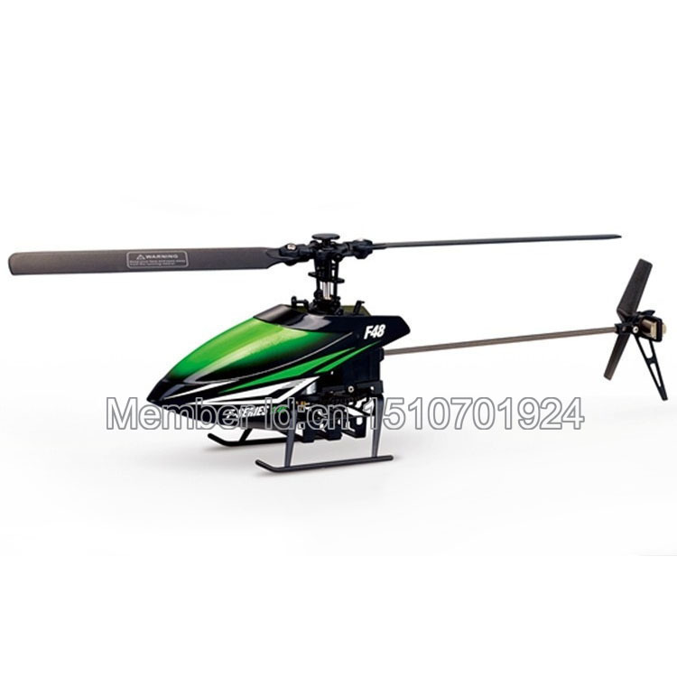 ФОТО wholesale helicopter body mjx f48 single blade rc helicopter bnf(green color),without   transmitter.free shipping.