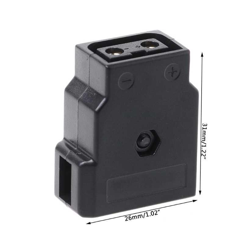 D-Tap Dtap Тип B Женская мощность «сделай сам» штекер разъем для батареи камеры Antonbauer