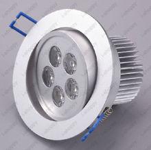5W High Power LED Warm Pure White Ceiling Cabinet Fixture Down Light 85 265V AC 3w 170 lumen 6500k white led ceiling lamp down light ac 85 265v