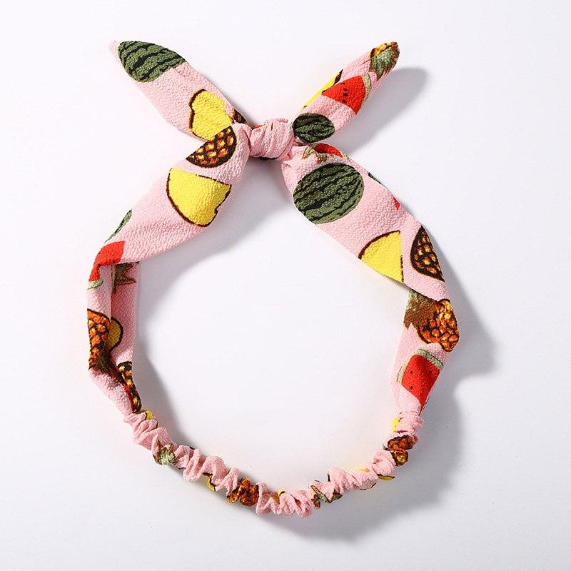 Sweet Fruit Twist Headband Hair Clips Summer Hairband Turban Hair Accessoires