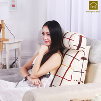 Home Colorful Cushion Massage Sofa Pillow Vintage Cushions Garden Furniture Chair Pads Coussin Chaise Lounge Cushion WKX047
