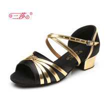 Sasha direct selling professional High Quality girl Latin Dance Shoes Economic Shoes Ballroom Salsa Tango dance shoes kids 113