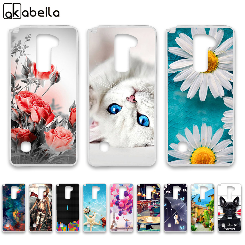 AKABEILA Soft TPU Phone <font><b>Cases</b></font> For <font><b>LG</b></font> Stylus 2 Plus K530 K535/F720 LS775 <font><b>G</b></font> <font><b>Stylo</b></font> 2 K520 stylus2 Covers Nutella Bags Back image