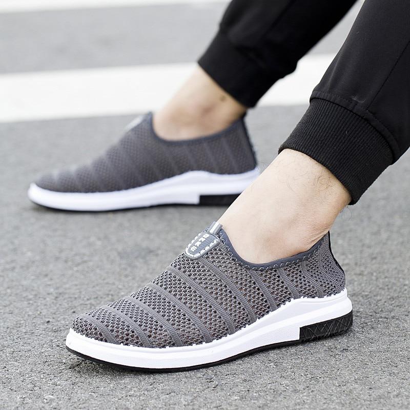 2018 Sommer Schuhe Männer Atmungsaktiv Bequeme Freizeitschuhe - Herrenschuhe - Foto 4
