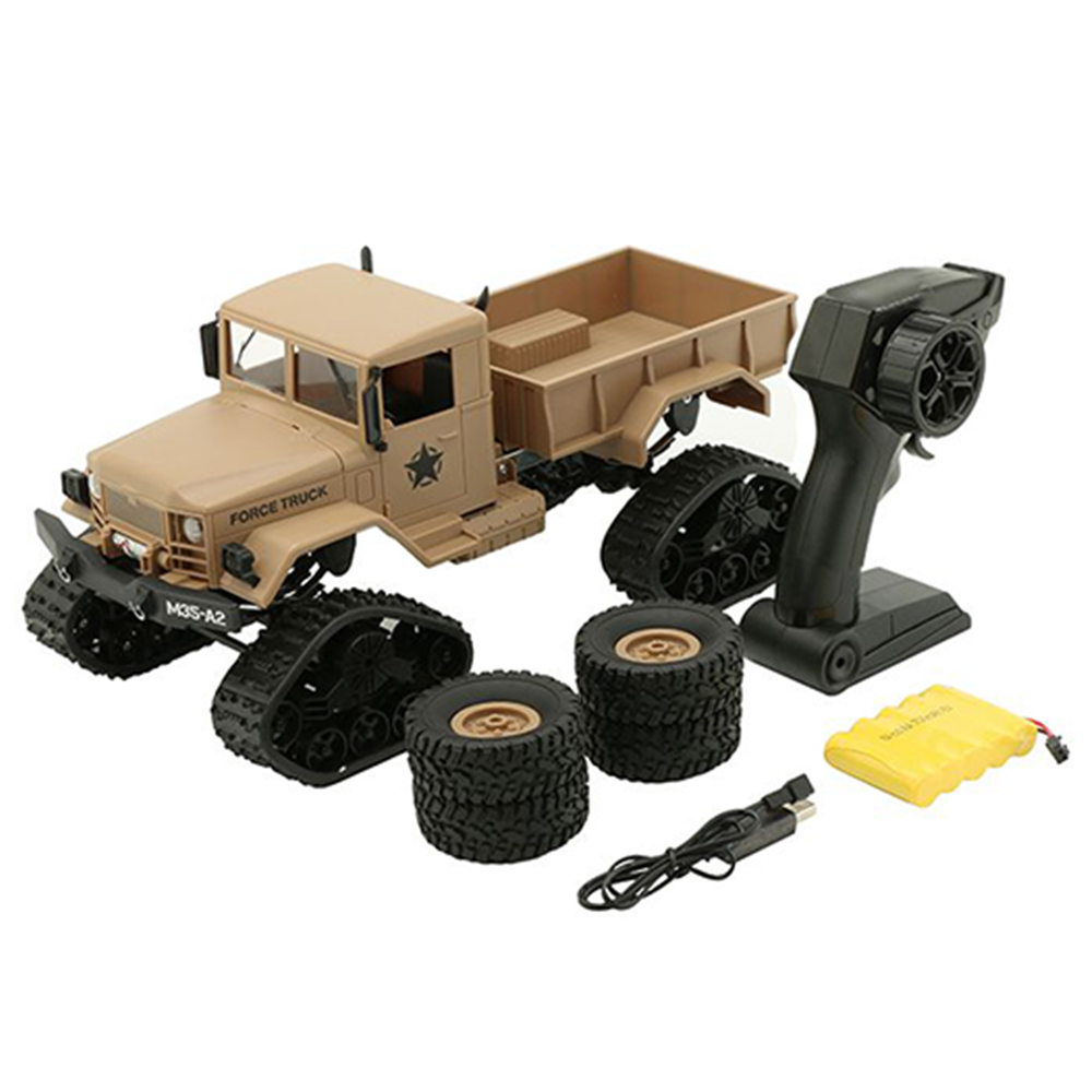 1/16 Remote Control Military Truck 4 Wheel Drive Off-Road RC Car Model Climbing Car Carro Controle Remoto RTR Toys For Children
