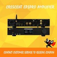 Полумесяц EP3Pro bluetooth усилитель аудио usb ЦАП dsd плеер es9038pro xmos декодер цифровой hifi усилитель аудио ЦАП apm