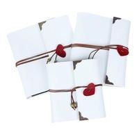 High Quality Leather 30 Black Paper Sheets Card Love Theme Wedding DIY Album Handmade Vintage Photo