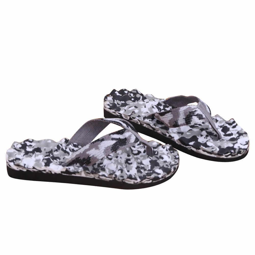 Mannen Zomer Camouflage Slippers Schoenen Mode Strand Sandalen Slipper Sandalen Slipper indoor & outdoor Hoge Kwaliteit Mannen Schoenen