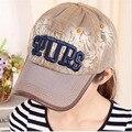 Fashion Jean Cotton Letter Decoration  Adjustable Casual Cap Women Hat Snapback Caps Women Hip Hop Cap Outdoor Raider