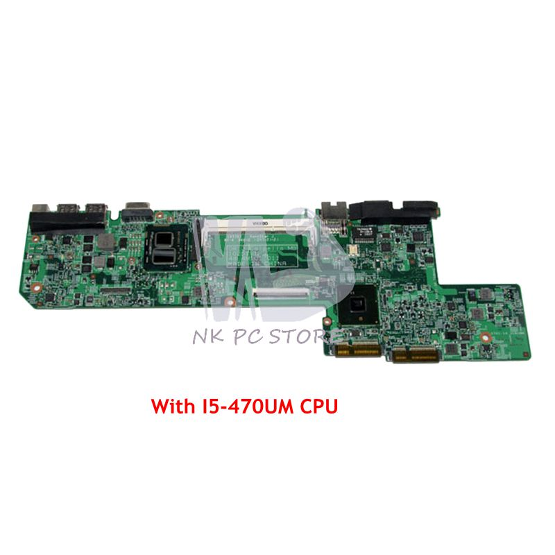 Nokotion Cn-01gm76 01gm76 10251-1 48.4m101.011 Main Board Für Dell Vostro 130 V130 Laptop Motherboard I5-470um Cpu Ddr3 Hm57