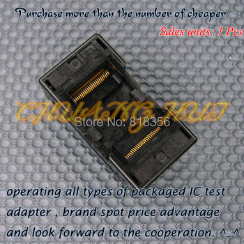 TEST TSOP48 OTS-48-0.5-12  IC Test Burn-In Socket Adapter 18.4mm Width 0.5mm Pitch program test new tsop48 on line test socket smd welding tsop48 tsop48 ic socket adapter pitch 0 5mm