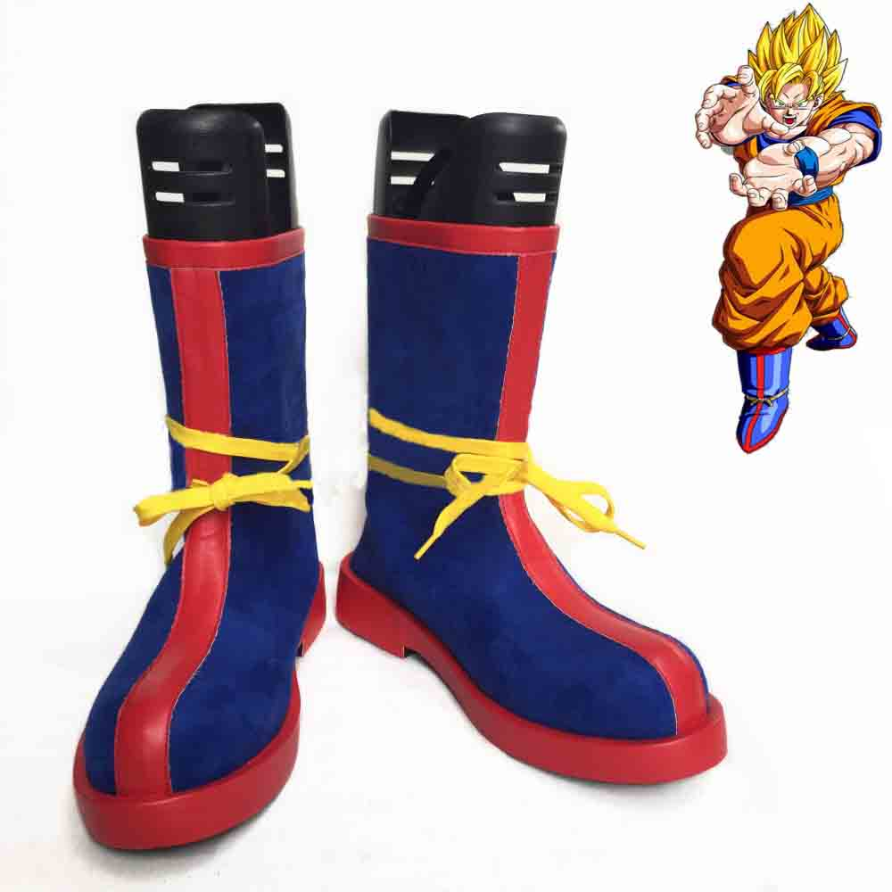 New Dragon Ball cosplay shoes Goku Anime Boots high quality Tailor Made