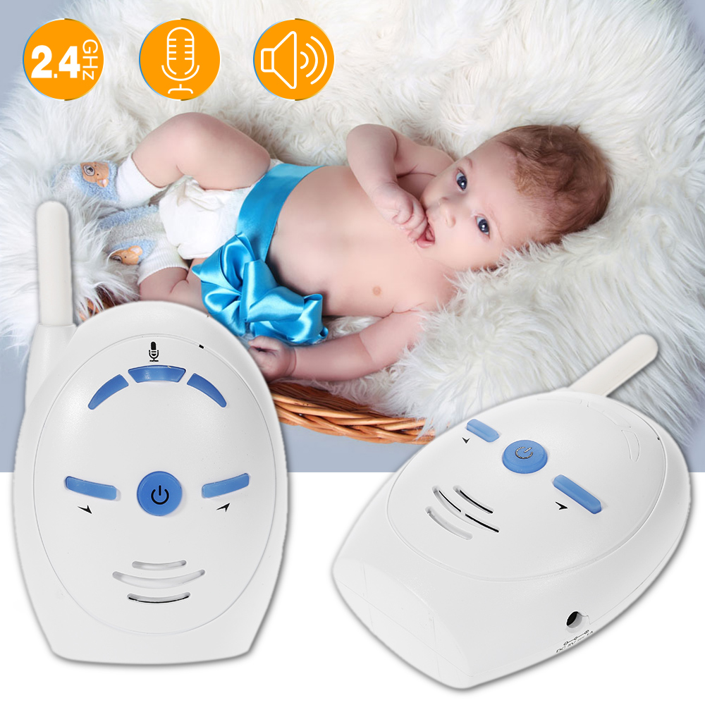 Wireless Baby sleeping Monitor Audio Nanny Phone Electronic Alarm Kids radio Intercoms Infant sitter Nurse