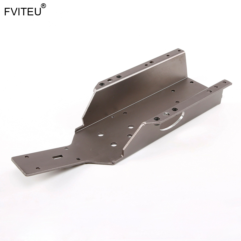 Metal Main Frame Chassis for Rovan Q Baja Parts