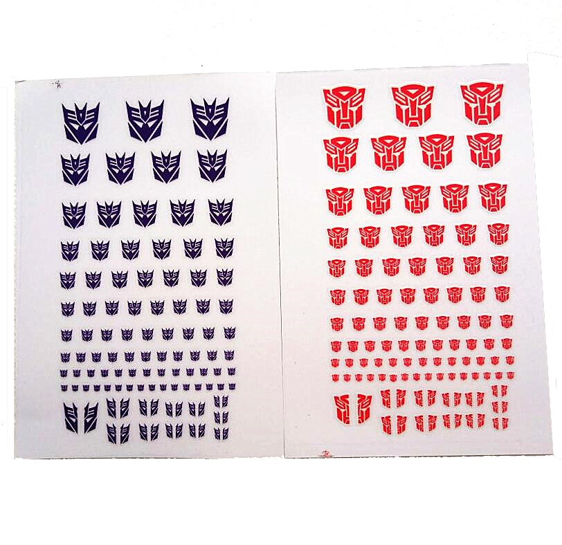 90 Decal Sticker Symbol COOL Decepticons/autobots Scene-Accessories DIY G1 For Custom