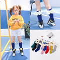 cute cartoon children cotton  sock baby  knee  boy  girl newborn Antiskid  anti slip baby winter warm socks