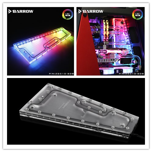US $148 9 |Aliexpress com : Buy ZGC10 SDB Barrow watercooling Waterway  Board for ZG 10 computer case compatible MSI/ASUS/GIGABYTE/ASROCK SYNC
