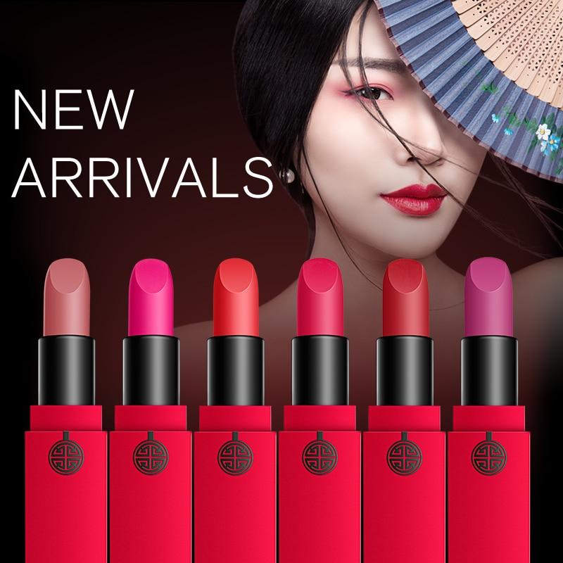 MEIKING Matte Lipstick Velvet High Quality Waterproof Long Lasting Moisture Beauty Lipsticks Cosmetic Lips Matte Makeup Batons 1