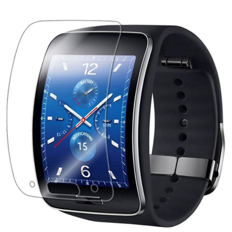 5pcs Anti-shock Soft TPU Ultra HD Clear Protective Film Guard For Samsung Galaxy Gear S R750 Full Display Screen Protector Cover