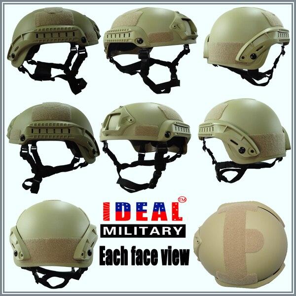 Тактический Немецкие военные Шлемы Wargame тактический Mich 2001 шлем Airsoft Combat Армия Mich Шлемы