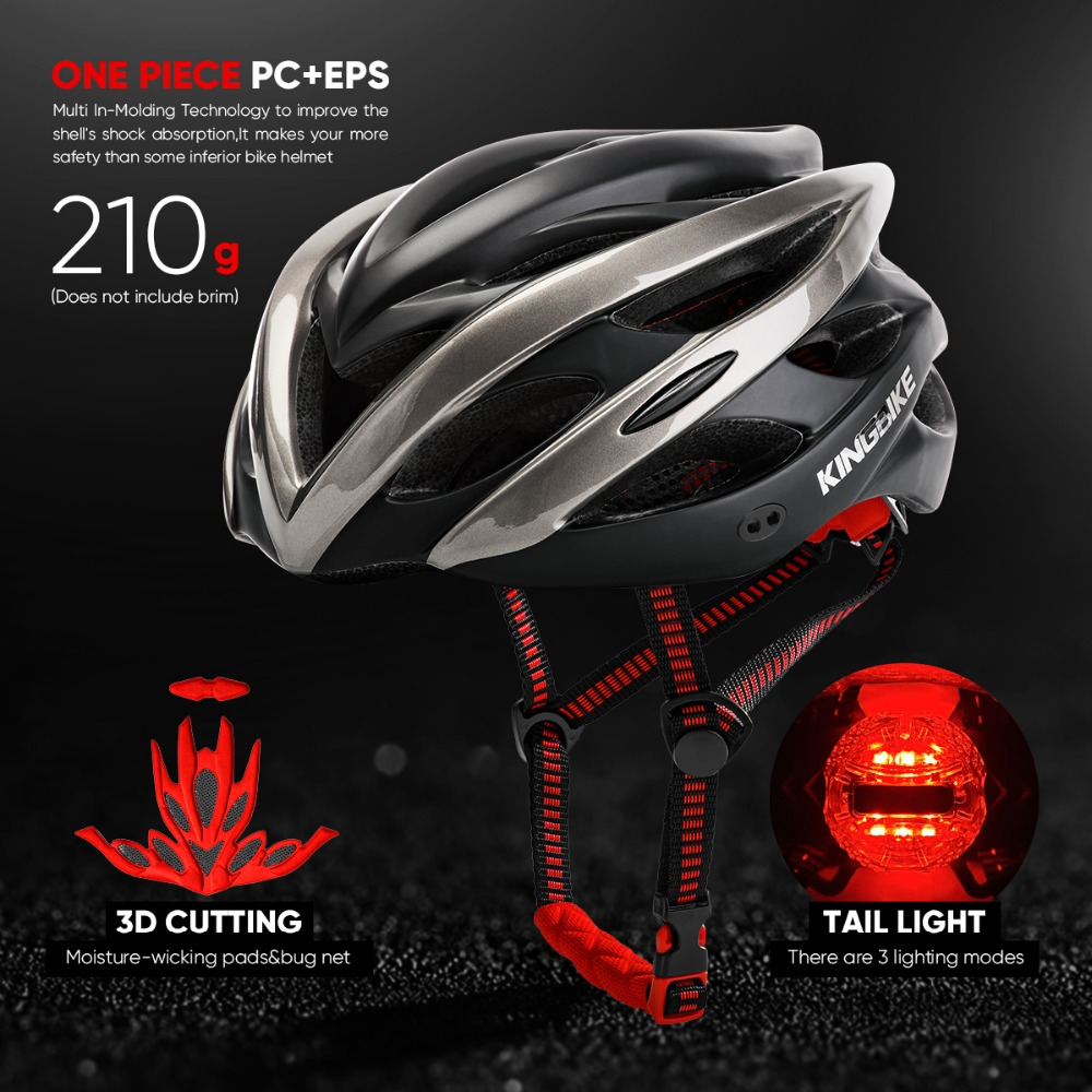 Men, Helmet, Cycling, Road, In-mold, New