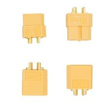 100PCS 50 pair XT60 Gold plated Bullet Connectors Male Female Plugs For RC Lipo font b