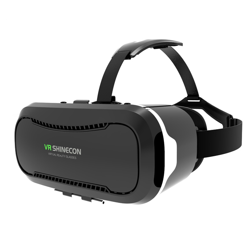 Shinecon 2.0 3D Glasses Virtual Reality Phone Google Cardboard VR Glasses Helmet BOX for ios for Android 4.7 6 inch Phone