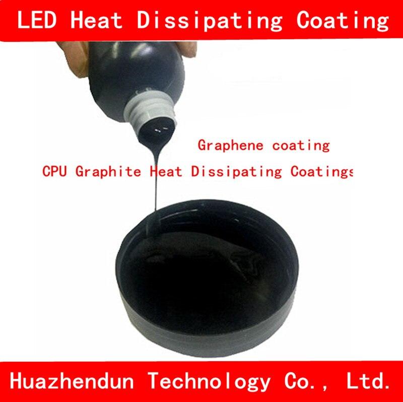Graphene Coating CPU Graphite Heat Dissipating Coatings Radiation Heat Dissipation Coating LED Heat Dissipating Coating