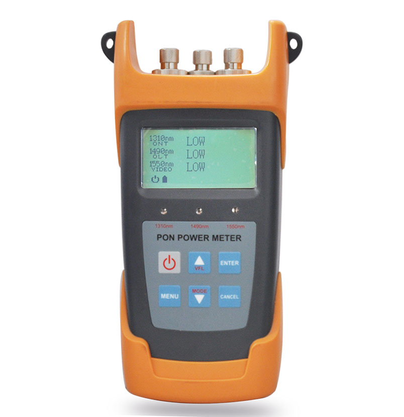 PPM300V PON/GPON/EPON FTTH meter, 1310/1490/1550nm for fttx network with VFL Function