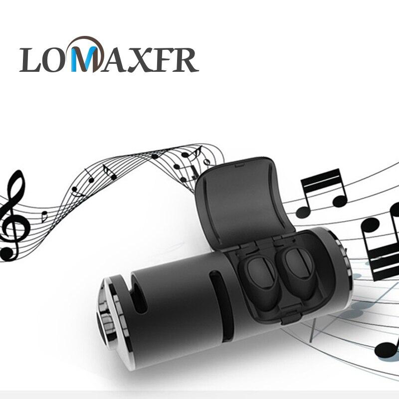 T8 Bluetooth 4.2 1200 mAh boîte de charge casque sans fil avec Microphone stéréo Touchs contrôle écouteurs dans l'oreille Sport casque