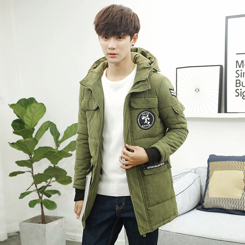 New 2016 Brand Clothing Fashion Hooded font b Men b font Winter Jacket Warm Thicken With