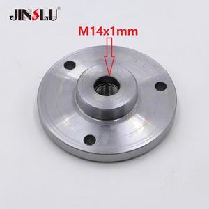 Image 1 - OVER 40 SOLD M14x1mm M14 Spindle Thread chuck Flange Back Plate base Adapter K11 80 K12 80  K11 100 K12 100  K11 125 K12 125