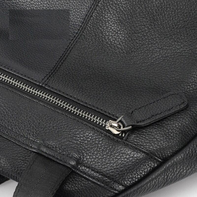 qualidade do couro genuíno preto Handle/strap Tipo : Soft Handle