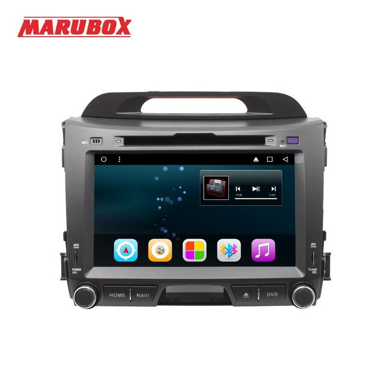 MARUBOX M201R16 Android 6.0 Voiture Lecteur Multimédia Stéréo Pour Kia Sportage 2010 + DVD/Bluetooth/Radio/Audio mirrorlink Capacitif