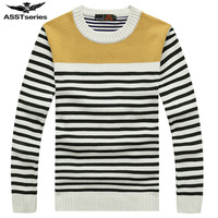 Free Shipping 2017 New Men Stripe Men S Sweater Autumn Clothing Brand Casual Slim Fit Pullover