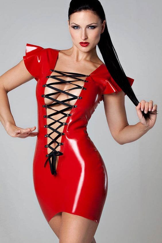 Popular Red Rubber Dress Buy Cheap Red Rubber Dress Lots