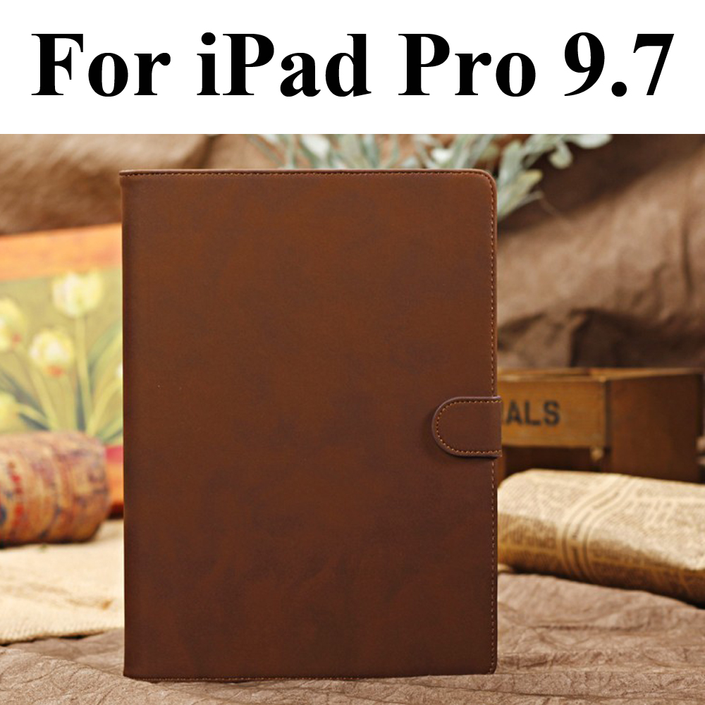 Genuine Leather Case For Apple iPad Pro 9.7 Stand Smart Cover