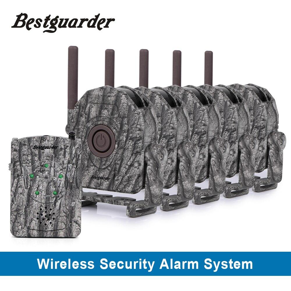 Système d'alarme de sécurité de chasse sans fil sans fil avec trois alertes pour que le chasseur soit informé de tout animal approchant jusqu'à 300 m
