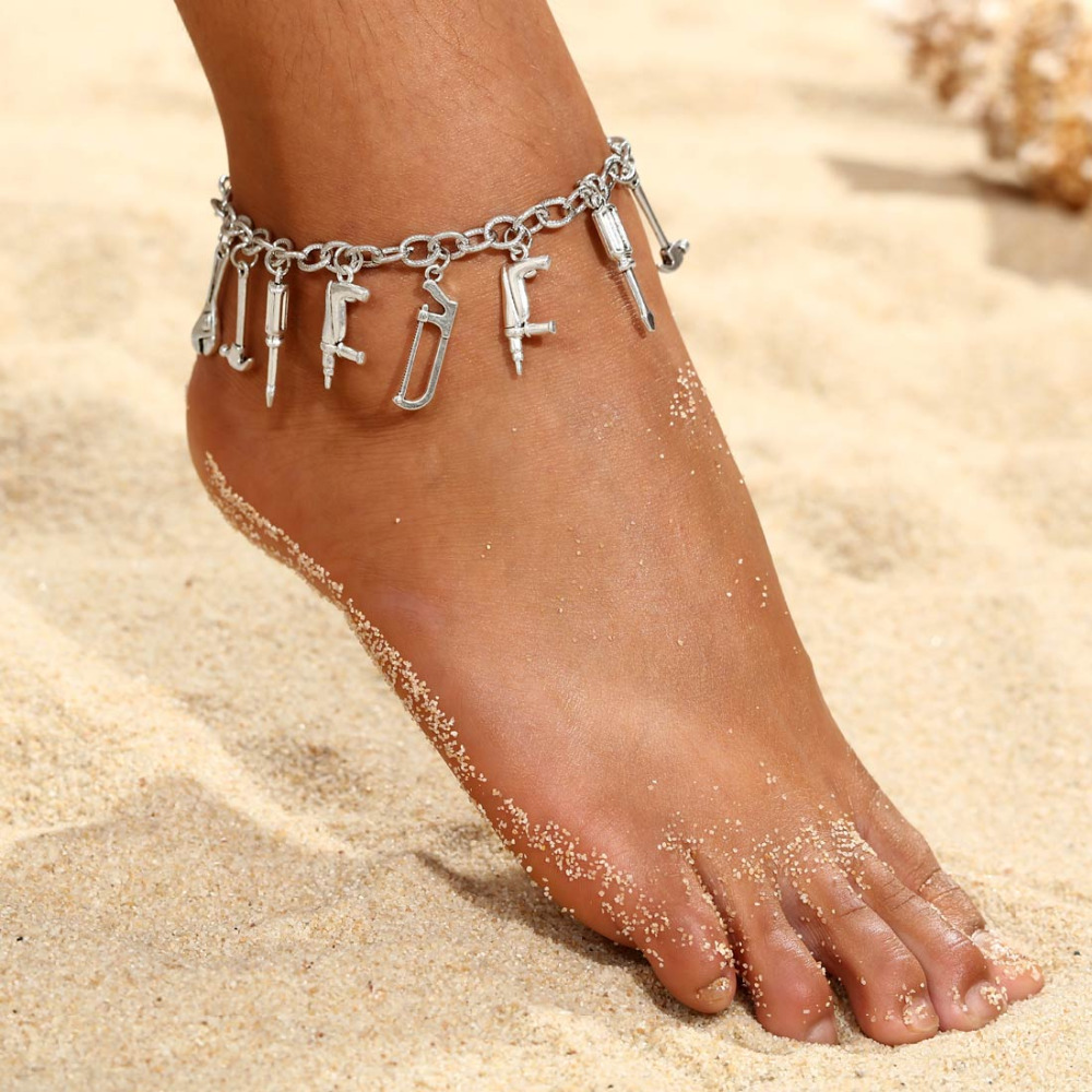 Boho Fox Birds Pendant Anklets For Women 2018 Shell Anklet Bracelets On The Leg Bohemian Foot Ocean Jewelry Drop Shipping