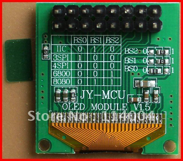 "Factory Sell 10x Blue Color SSD1306 0.96"" OLED display module , 3.3V free shipping"