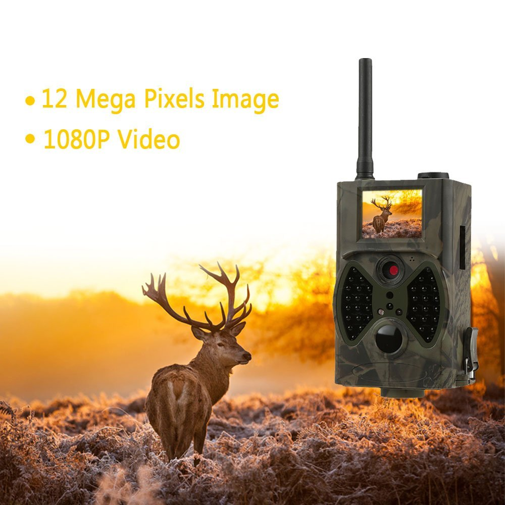 Hunting Game Camera MMS Photo trap HD Scouting Infrared Outdoor Hunting Trail Video Camera animal camera trap hc 300m hunting game camera mms photo trap hd scouting infrared outdoor hunting trail video camera black ir night vision camera
