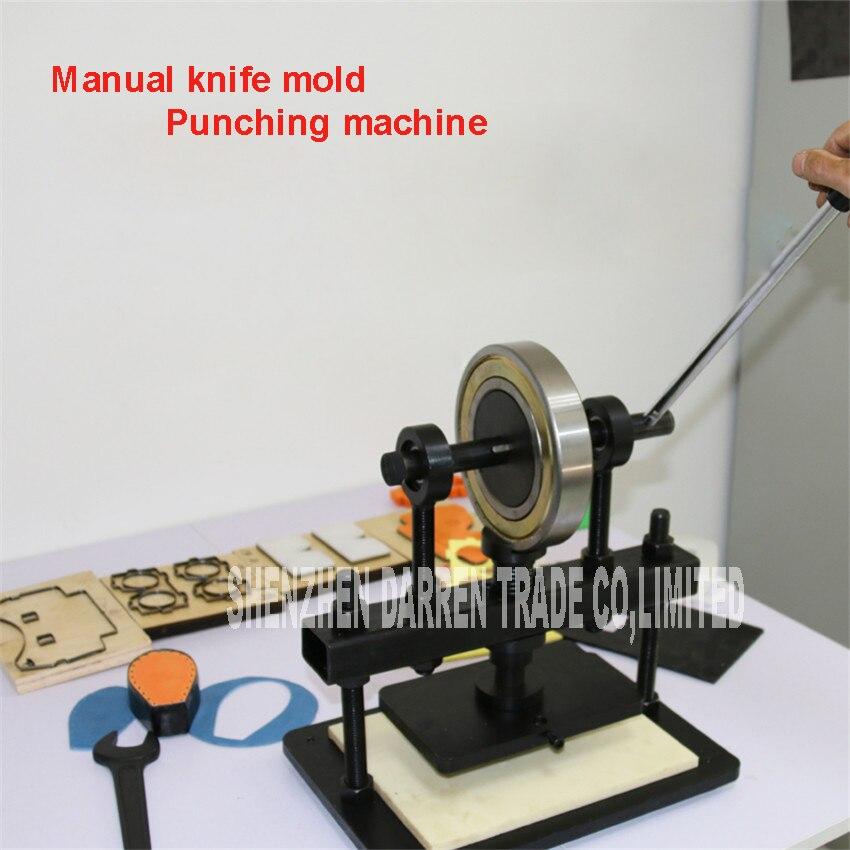 Hand Leder schneidemaschine, fotopapier, PVC/EVA blatt scherblock form, manuelle Leder Form/stanzmaschine Manuelle sterben drücken - 4