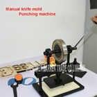 Máquina cortadora de cuero de la mano, papel fotográfico, molde cortador de hoja PVC/EVA, molde para cuero manual/troqueladora máquina de cortar manual - 4